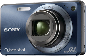 Sony's Cyber-shot DSC-W290 digital camera. Photo provided by Sony Electronics Inc. Click for a bigger picture!