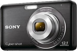 Sony's Cyber-shot DSC-W310 digital camera. Photo provided by Sony. Click for a bigger picture!