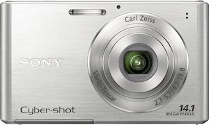 Sony's Cyber-shot DSC-W330 digital camera. Photo provided by Sony. Click for a bigger picture!