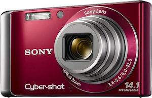 Sony's Cyber-shot DSC-W370 digital camera. Photo provided by Sony. Click for a bigger picture!