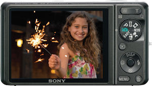 Sony's Cyber-shot DSC-WX1 digital camera. Photo provided by Sony Electronics Inc. Click for a bigger picture!