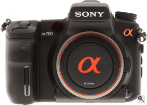 Sony's Alpha DSLR-A700 digital SLR. Copyright © 2007, Imaging Resource. All rights reserved. Click for a bigger picture!
