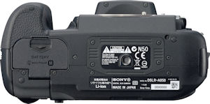 Sony's Alpha DSLR-A850 digital SLR. Photo provided by Sony Electronics Inc. Click for a bigger picture!