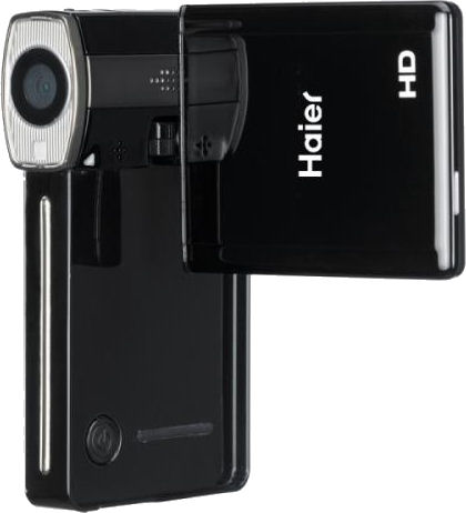 Haier's five megapixel, fixed focal length DV-508 digital camcorder. Photo provided by Haier Group Corp.