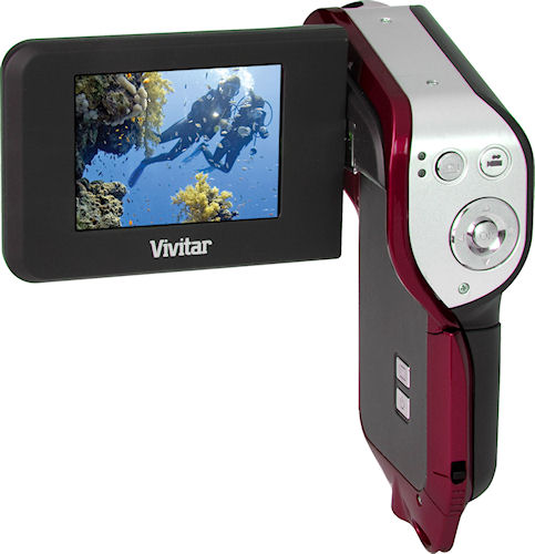 Vivitar's DVR 850W high definition camera. Photo provided by Vivitar. Click for a bigger picture!