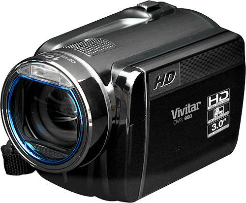 Vivitar's DVR 980 high definition camera. Photo provided by Vivitar. Click for a bigger picture!