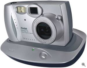 Kodak's EasyShare DX3215 Zoom digital camera. Courtesy of Eastman Kodak Co. Click for a bigger picture!