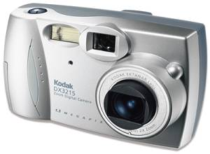 Kodak's EasyShare DX3215 Zoom digital camera. Courtesy of Eastman Kodak Co.
