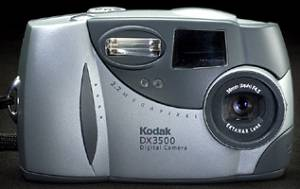 Kodak's DX3500  digital camera. Courtesy of Kodak.