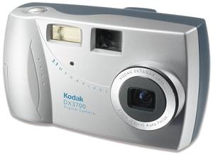Kodak's EasyShare DX3700 digital camera. Courtesy of Eastman Kodak Co.
