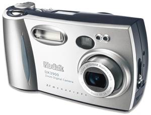 Kodak's EasyShare DX3900 Zoom digital camera. Courtesy of Eastman Kodak Co.