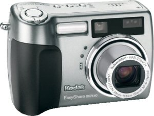Kodak's EasyShare DX7440 digital camera. Courtesy of Eastman Kodak Co., with modifications by Michael R. Tomkins.