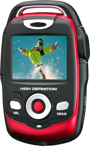 The DXG-125V HD camcorder. Photo provided by DXG USA. Click for a bigger picture!