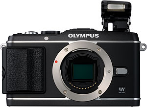 Olympus' PEN E-P3 compact system camera. Photo provided by Olympus Imaging America Inc. Click for a bigger picture!
