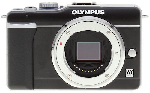 Olympus' E-PL1 single-lens direct view camera. Image copyright © 2010, Imaging Resource. All rights reserved. Click for a bigger picture!
