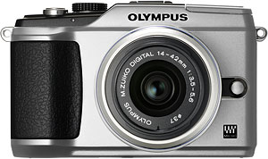 Olympus' PEN E-PL2 digital camera. Photo provided by Olympus Imaging America Inc. Click for a bigger picture!