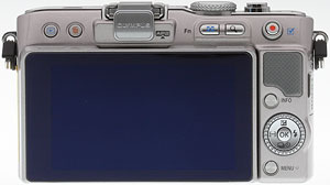 Olympus' PEN E-PL3 compact system camera. Image copyright © 2011, Imaging Resource. All rights reserved. Click for a bigger picture!