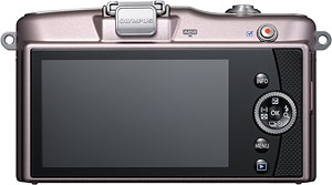 Olympus' PEN E-PM1 compact system camera. Photo provided by Olympus Imaging America Inc. Click for a bigger picture!