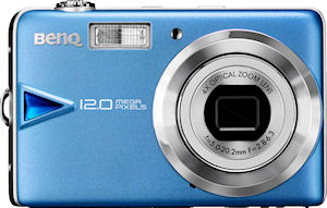 BenQ's E1260 digital camera. Photo provided by BenQ Corp. Click for a bigger picture!