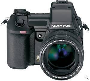 Olympus' Camedia E-20P digital camera. Courtesy of Olympus. Click for a bigger picture!