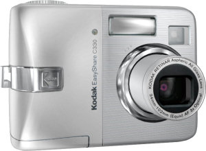 Kodak's EasyShare C330 Zoom digital camera. Courtesy of Kodak, with modifications by Michael R. Tomkins.