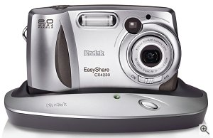 Kodak's EasyShare CX4230 zoom digital camera. Courtesy of Eastman Kodak Co., with modifications by Michael R. Tomkins.