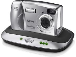 Kodak's EasyShare CX4300 digital camera. Courtesy of Eastman Kodak Co., with modifications by Michael R. Tomkins.