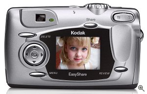 Kodak's EasyShare DX4330 digital camera. Courtesy of Eastman Kodak CO., with modifications by Michael R. Tomkins.