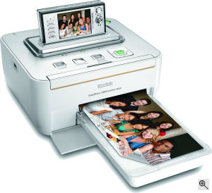 Kodak's Easyshare Printer Dock G600. Courtesy of Eastman Kodak Co, with modifications by Michael R. Tomkins. Click for a bigger picture!