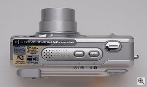 Kodak's EasyShare LS443 digital camera. Copyright (c) 2002, The Imaging Resource. All rights reserved. Click for a bigger picture!