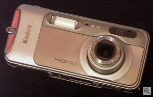 Kodak's EasyShare LS743 digital camera. Copyright © 2003, The Imaging Resource. All rights reserved. Click for a bigger picture!