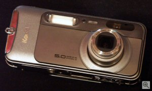 Kodak's EasyShare LS753 digital camera. Copyright © 2003, The Imaging Resource. All rights reserved. Click for a bigger picture!