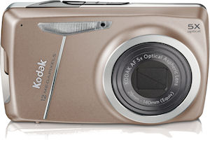 Kodak's EasyShare M550 digital camera. Photo provided by Eastman Kodak Co. Click for a bigger picture!