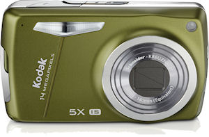 Kodak's EasyShare M575 digital camera. Photo provided by Eastman Kodak Co. Click for a bigger picture!