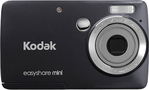 Kodak's EasyShare Mini digital camera. Rendering provided by Eastman Kodak Co. Click fora bigger picture!