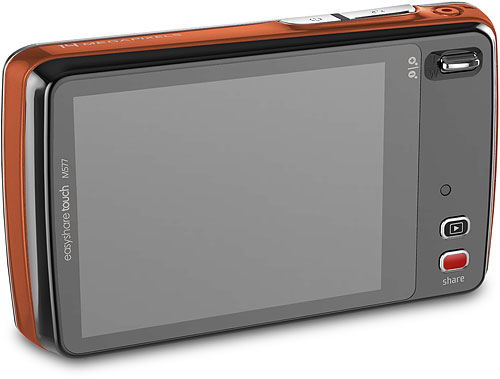 Kodak's EasyShare Touch M577 digital camera. Rendering provided by Eastman Kodak Co. Click fora bigger picture!