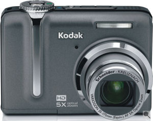Kodak's EasyShare Z1275 digital camera. Courtesy of Kodak, with modifications by Michael R. Tomkins. Click for a bigger picture!