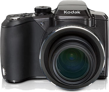 Kodak's EasyShare Z981 digital camera. Photo provided by Eastman Kodak Co.