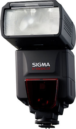The Sigma EF-610 DG ST flash strobe. Photos provided by Sigma Corp. of America. Click for a bigger picture!