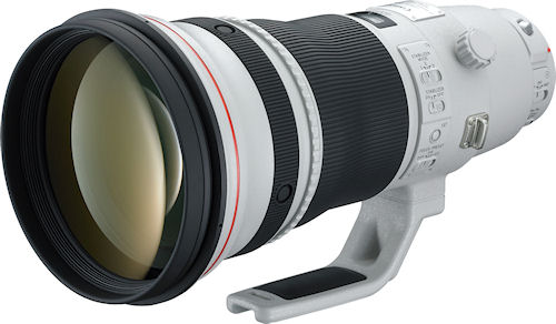 The Canon EF 400mm f/2.8L IS II USM lens. Photo provided by Canon USA Inc. Click for a bigger picture!