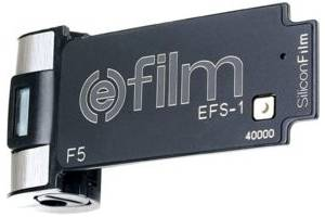 Silicon Film's (e)film cartridge. Courtesy of Silicon Film.