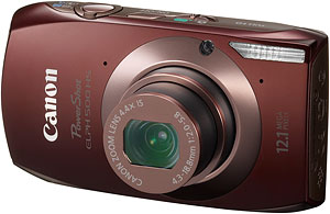 Canon's PowerShot ELPH 500 HS digital camera. Photo provided by Canon USA Inc. Click for a bigger picture!