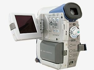 Canon's Elura 40MC digital camcorder. Courtesy of Canon, with modifications by Michael R. Tomkins.