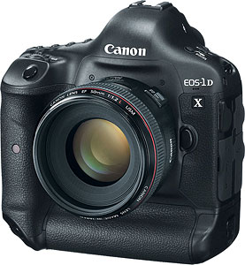 Canon's EOS-1D X digital SLR. Photo provided by Canon USA Inc. Click for a bigger picture!