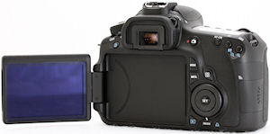 Canon's EOS 60D digital SLR. Photo copyright © 2010, Imaging Resource. All rights reserved. Click for a bigger picture!
