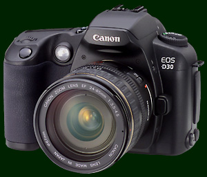 Canon's EOS D30 SLR digital camera