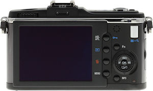 Olympus' E-P2 digital camera. Copyright © 2009, Imaging Resource. All rights reserved.