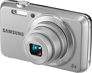 Samsung's ES80 digital camera. Photo provided by Samsung Electronics Co. Ltd. Click for a bigger picture!