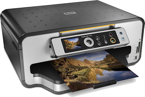 The KODAK ESP 7250 All-in-One (AiO) printer. Photo provided by Eastman Kodak Co. Click for a bigger picture!