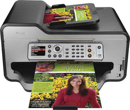Kodak's ESP 9250 all-in-one printer. Photo provided by Eastman Kodak Co. Click for a bigger picture!